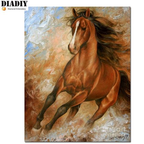 Diamond Painting Pferd