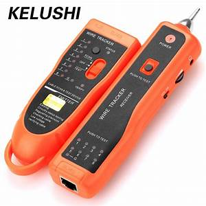 Kelushi Diagnose Tester Xq 350 For Utp Stp Cat5 Cat6 Rj45 Lan Network Cable Line Finder Rj11