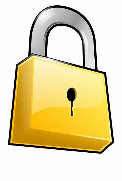 Lock Clipart Padlock Locked Security Clip Banner