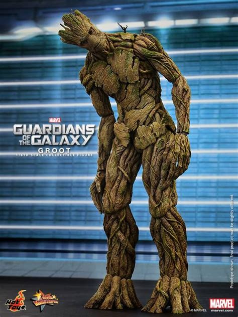 hot toys groot  guardians   galaxy grut