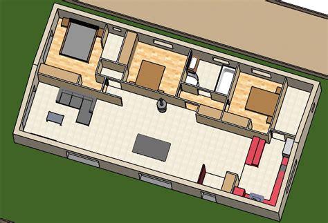 la cuisine de louisa plan maison en longueur sur ce mme ct la cuisine