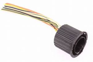 Head Light Wiring Harness Round Connector Pigtail 93