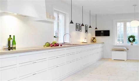 white kitchen floor ideas cocinas blancas de dise 241 o moderno 50 ejemplos 1373