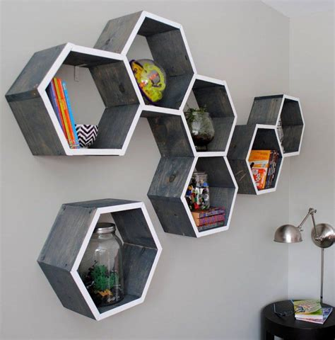 shape shelves  geometric designs