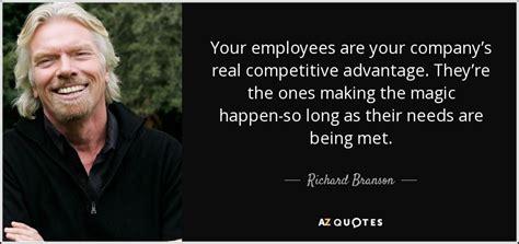 richard branson quote  employees   companys