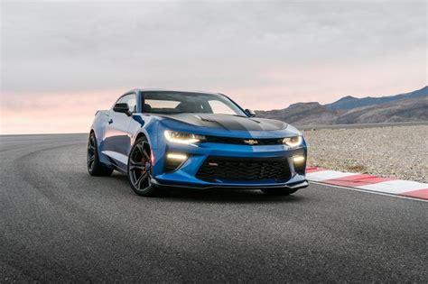 2018 Chevrolet Camaro Zl1 1le Blue Hd Wallpaper