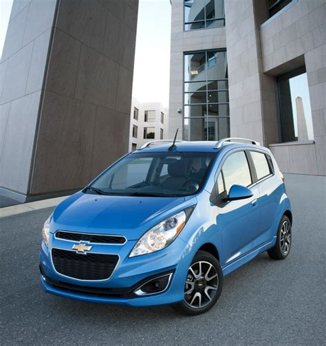 2013 Chevrolet Spark Officially Rated At 32 Mpg City, 38