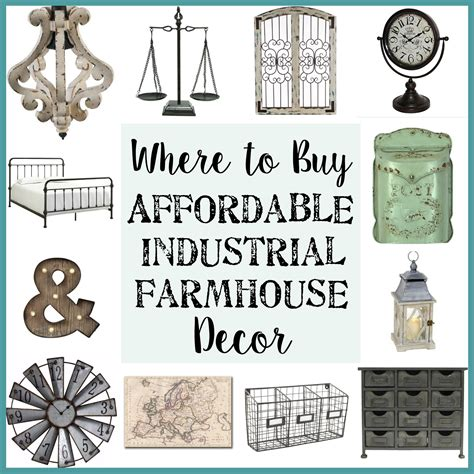 buy home decor where to buy affordable industrial farmhouse decor bless