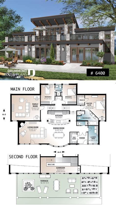 house plan Odessa No 6400 House plans mansion Sims