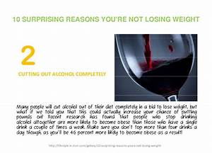 Cutting Out Alcohol And Weight Loss
