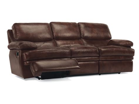 flexsteel rv recliners flexsteel living room leather reclining sofa 1127 62 3771
