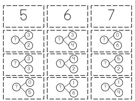 14 Best Images Of Number Bonds Worksheets