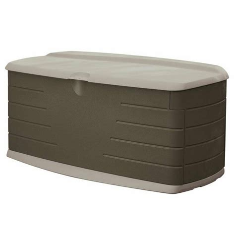 gal deck box  seat outdoor garden yard patio