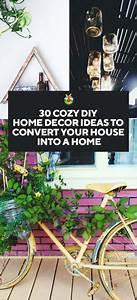 30, Cozy, Diy, Home, Decor, Ideas, To, Convert, Your, House, Into, A, Home