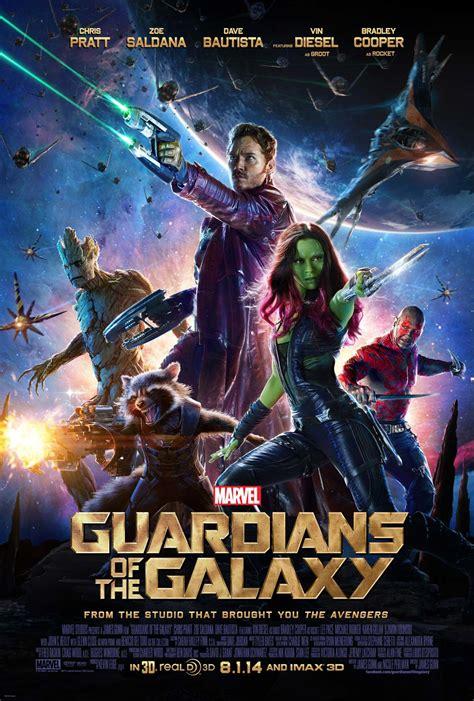 guardianes de la galaxia cartel de la pelicula  de