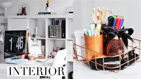 diy desk decor organization ideas  pinterest