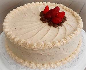 Genoise Layer Cake With Rum Syrup And Whipped Cream ...
