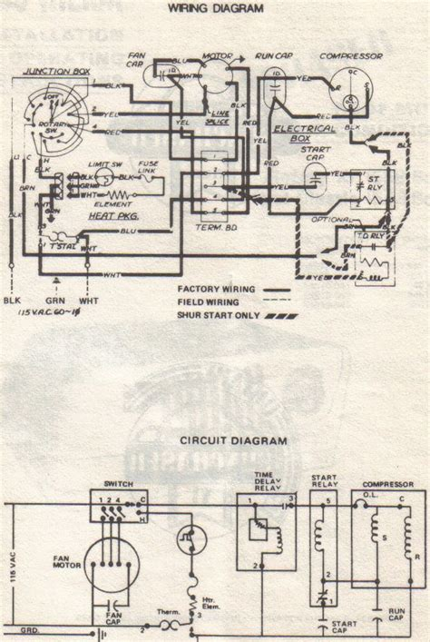 home air home air conditioning compressor wiring diagram