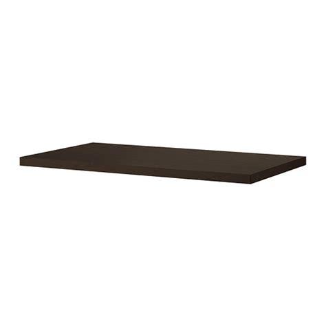tornliden plateau brun noir 150x75 cm ikea