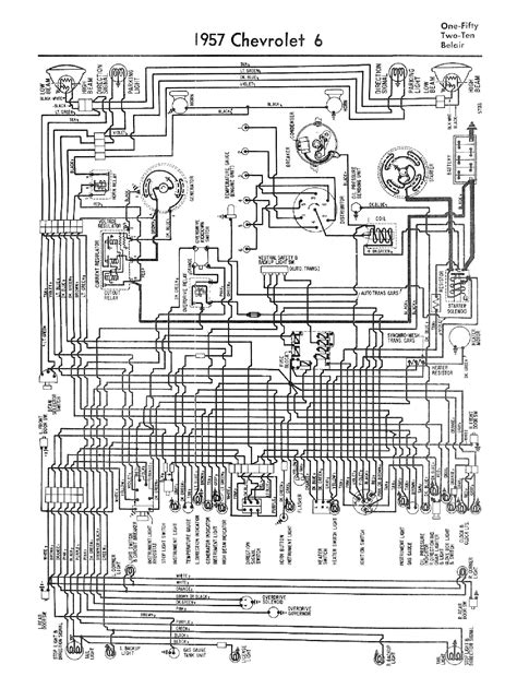 1958 Chevy Wiring Diagram Schematic by Chevy Wiring Diagrams