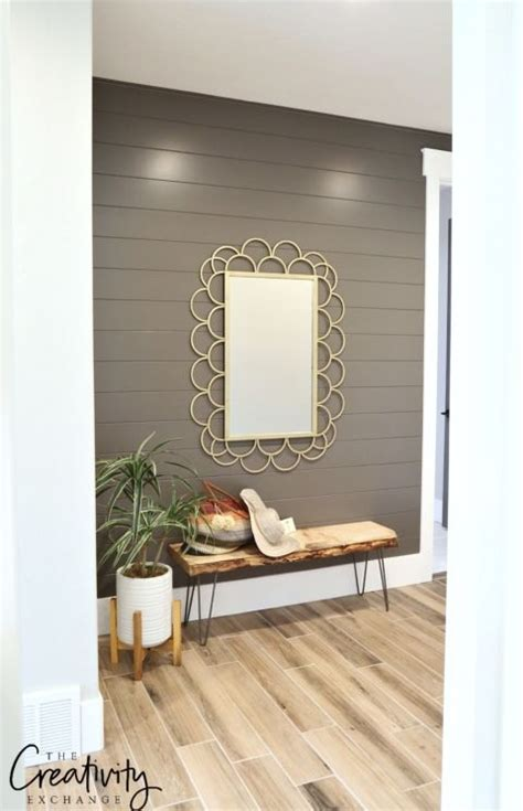 Shiplap Colors by Painted Shiplap Accent Walls In Rich Colors Diy Interior