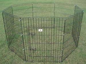 Portable dog fence panels peiranos fences portable dog for Dog fence for sale cheap