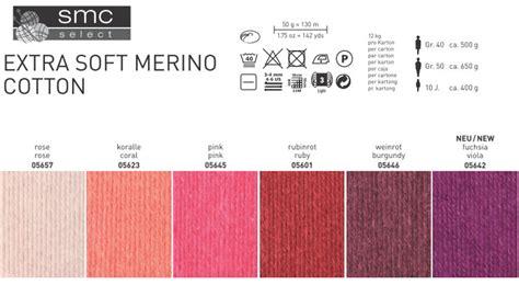 Extra Soft Merino Cotton Schachenmayr Smc Select Wolle Und