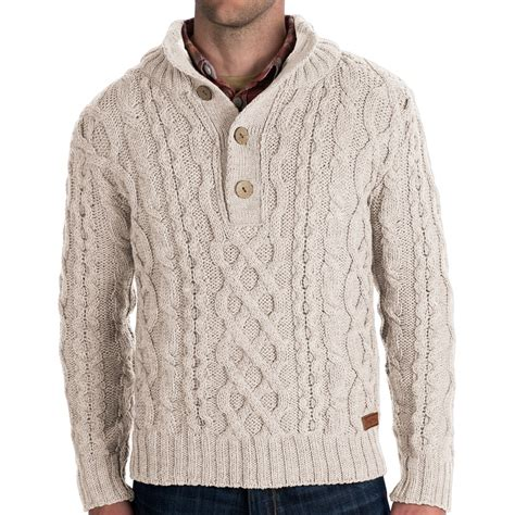 cable sweater mens peregrine by j g merino wool sweater chunky