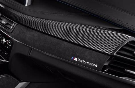 genuine bmw    xm  performance carbon fiber interior trim set rhd ebay