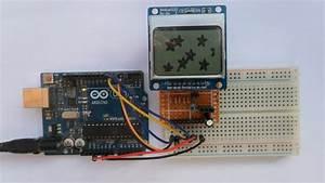 Interfacing Arduino With Nokia 5110 Lcd