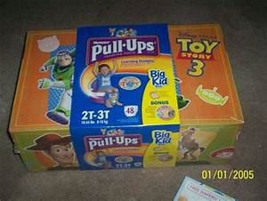 Free: HUGGIES 48ct. BIG KID BOX - 'Toy Story 3' Boys- Pull ...