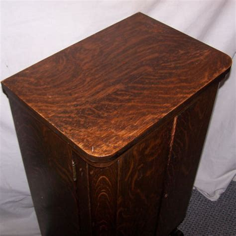vintage oak liquor cabinet bargain s antiques antique oak liquor cabinet 6853