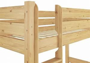 Hochbett Holz 90x200 : etagenbett hochbett stockbett massivholz 90x200 extra stabil or ebay ~ Frokenaadalensverden.com Haus und Dekorationen