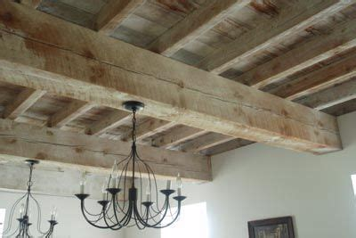 cement exposed beam interior beams   living room