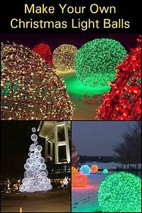 Make, Your, Own, Christmas, Light, Balls, U2013, Diy, Projects, For, Everyone