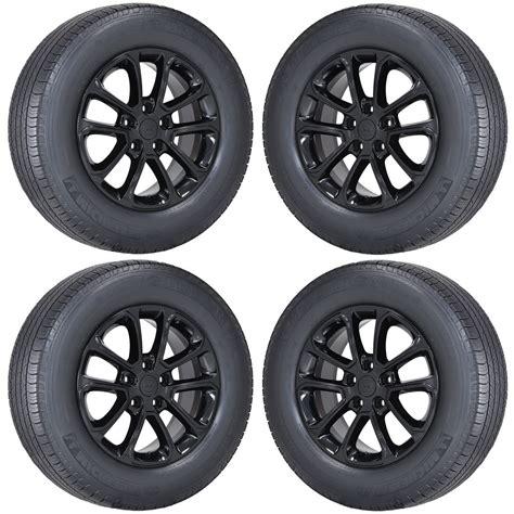 black jeep tires 18 quot jeep grand cherokee black wheels rims tires factory