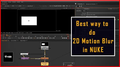 HOW TO CREATE 2D MOTION BLUR IN NUKE | VECTOR BLUR | TUTORIAL IN HINDI - YouTube