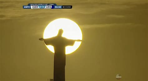 photo sunset christ  redeemer produce  image
