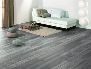 ophreycom salon gris parquet bois prelevement d With parquet flottant salon