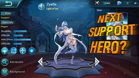 Mobile Legends │new Support Hero Leaked?