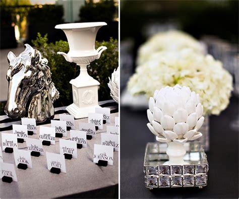 deco table mariage noir et blanc mariage baroque id 233 e planche inspiration d 233 co originale noir blanc ivoire carnet d inspiration