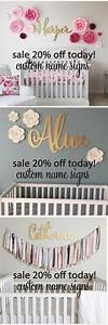 25 best ideas about name above crib on pinterest photo for Baby name letters for nursery