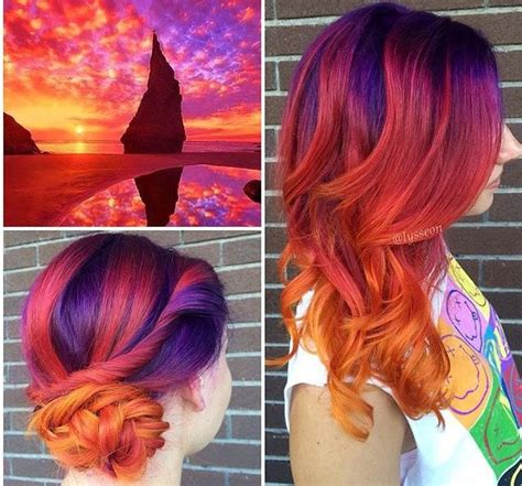 The Perfect Sunset Hair By Lysseon