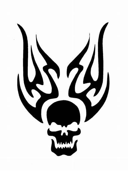 Stencils Stencil Tattoo Flame Flames Tattoos Skull
