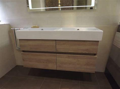 Cheap Bathroom Sink Units by Catalano 1200mm Bowl Basin Sink Wood Effect Drawer