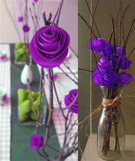 decoration a essai mariage 25 best ideas about paper flower centerpieces on paper centerpieces paper flowers