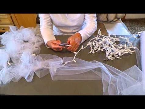 diy light tulle garland factory direct craft blog