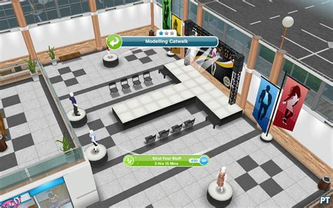 Sims Freeplay Second Floor Mall Quest by Sleepwear Event The Sims Freeplay Walkthrough Pingu 239 Ntech