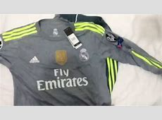 Real Madrid Away 2015 Adidas Tshirt Unboxing & Review