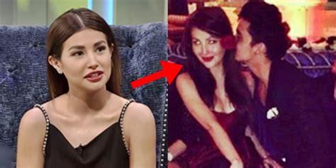 nathalie hart clarifies controversial kissing photo